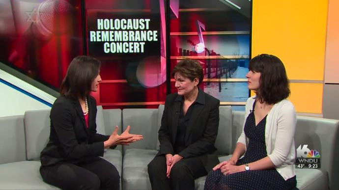WNDU Coverage of Holocaust Remembrance Concert