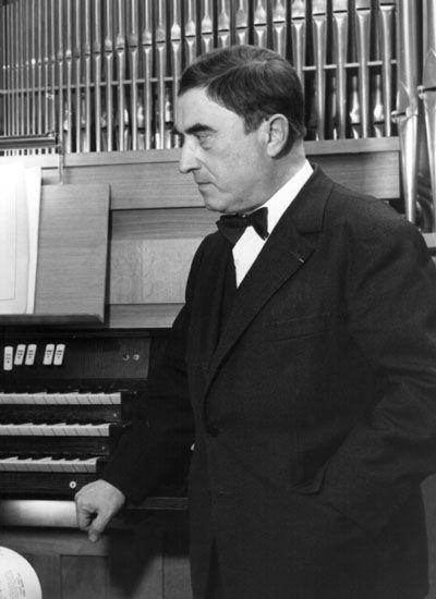 Maurice Durufle, composer